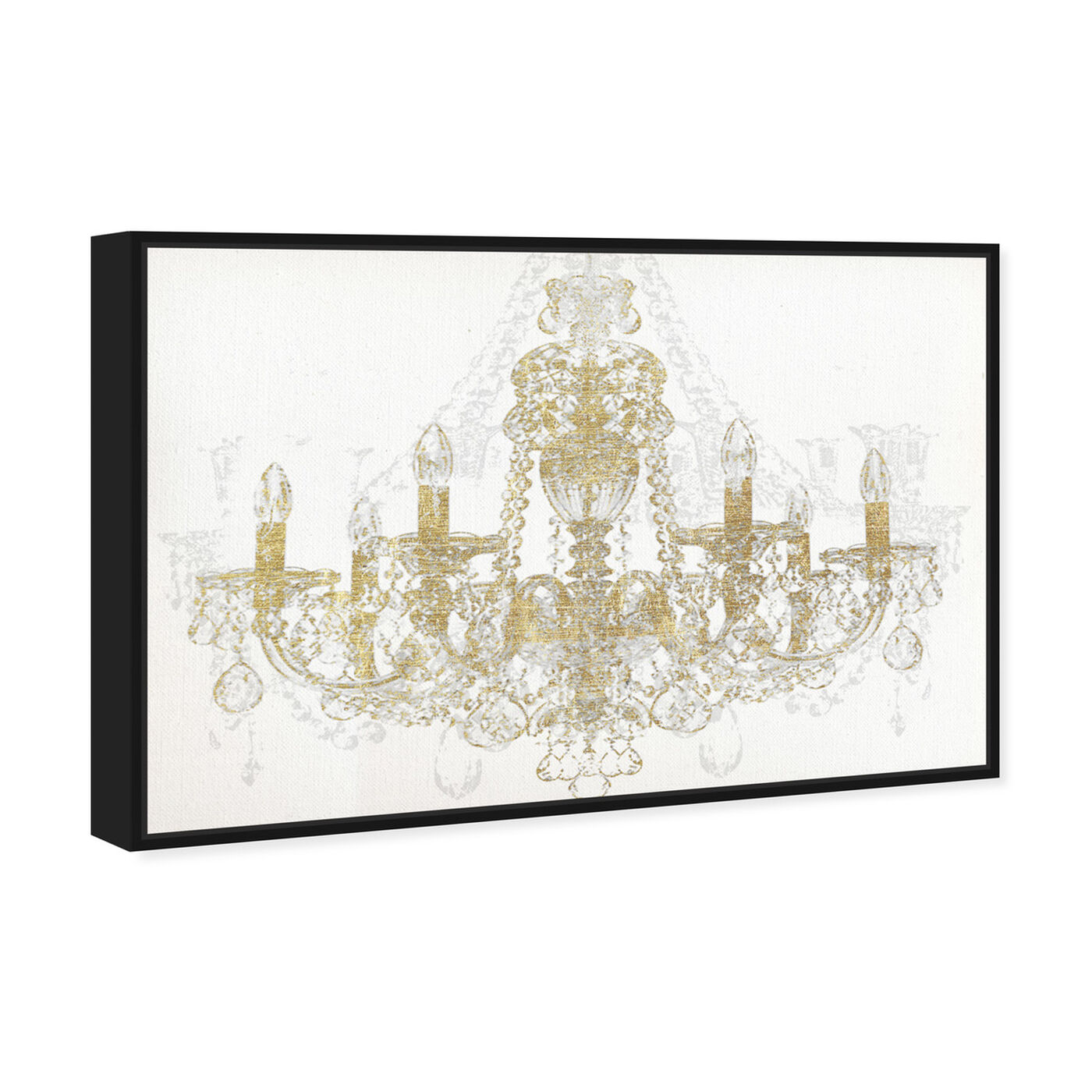 Angled view of Chandelier Diamond featuring fashion and glam and chandeliers art.