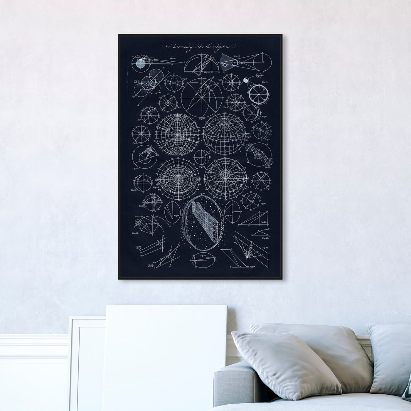 Hanging view of Astronomy System featuring astronomy and space and solar system art.