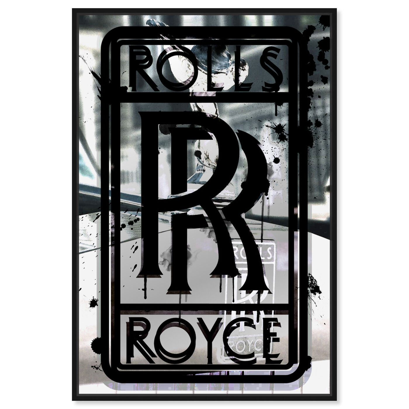 Front view of Roll Up Like Whoa featuring transportation and automobiles art.