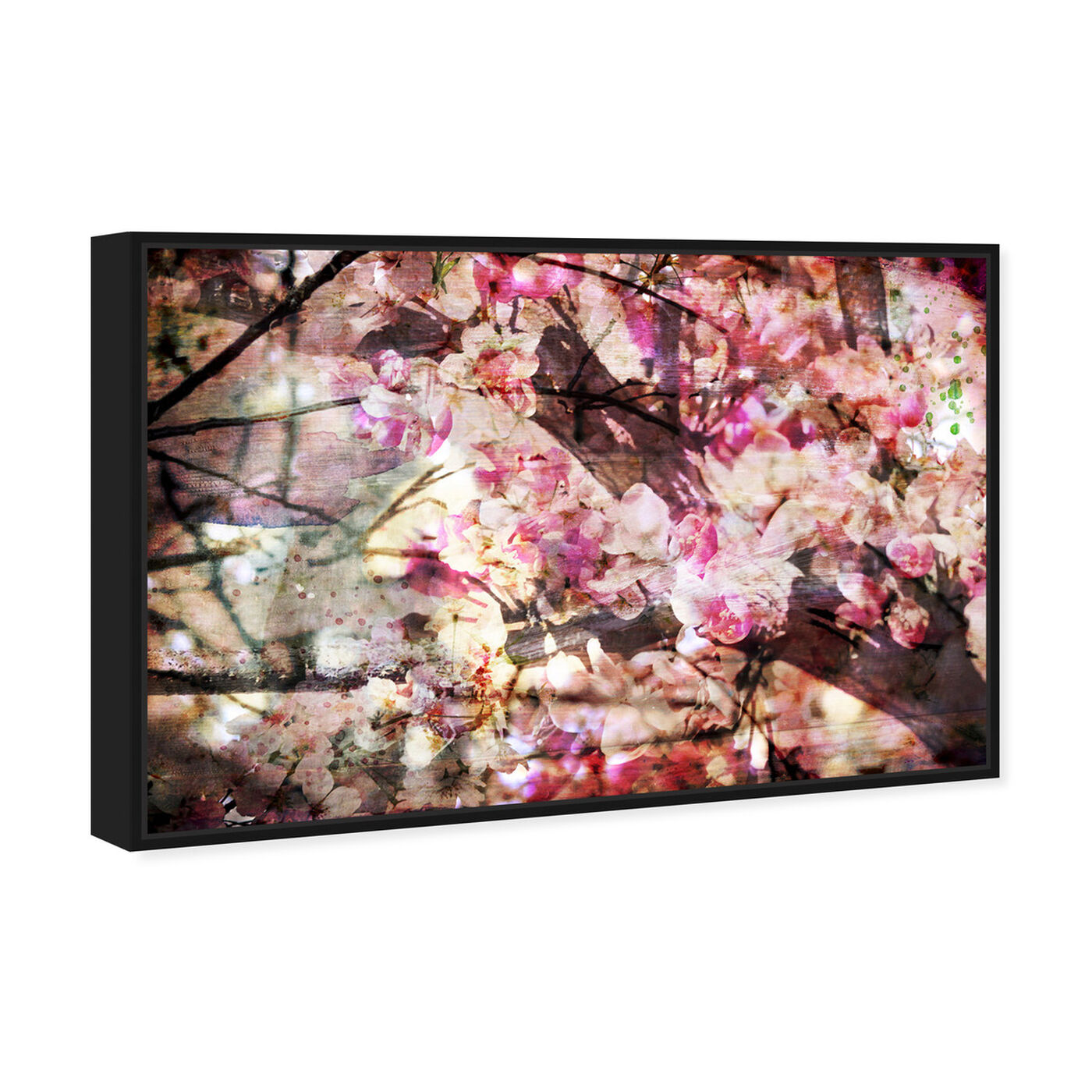 Angled view of Cherry Woods featuring floral and botanical and florals art.