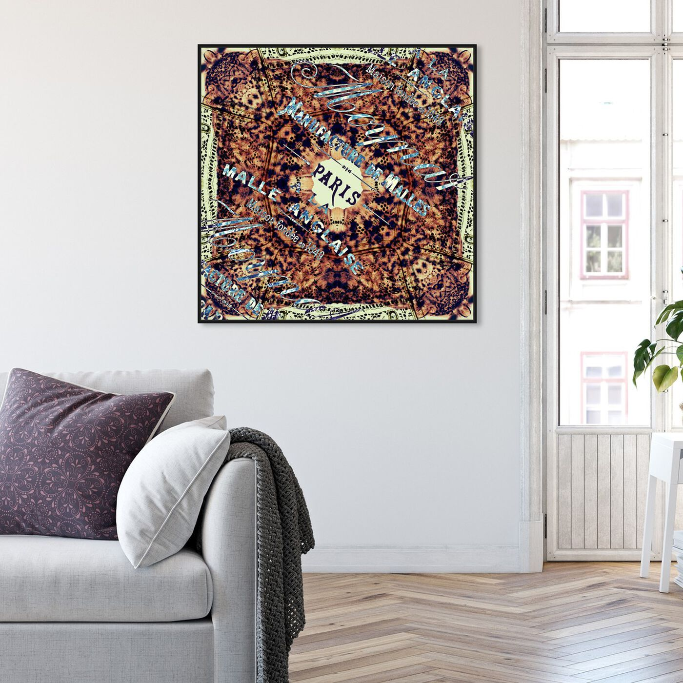 Hanging view of Anglaise featuring cities and skylines and european cities art.