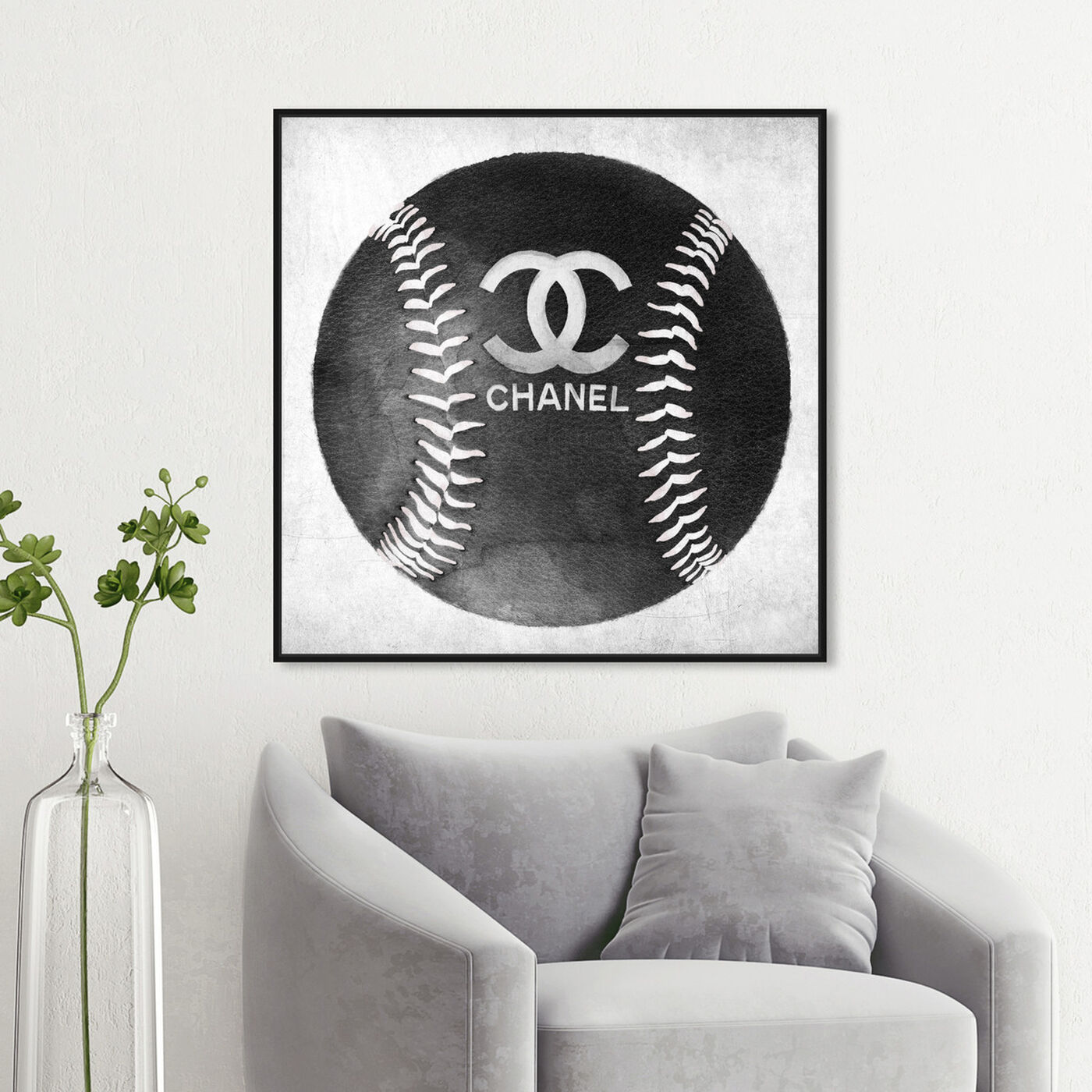 Hanging view of Fashion Baseball featuring fashion and glam and lifestyle art.