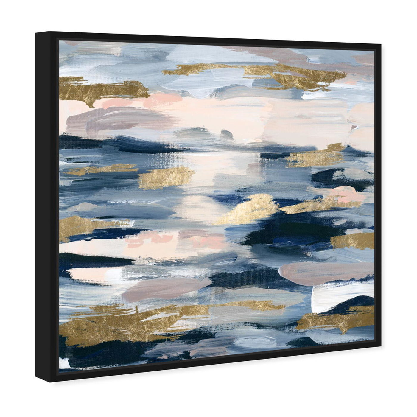 Angled view of Smoke on the Water featuring abstract and paint art.