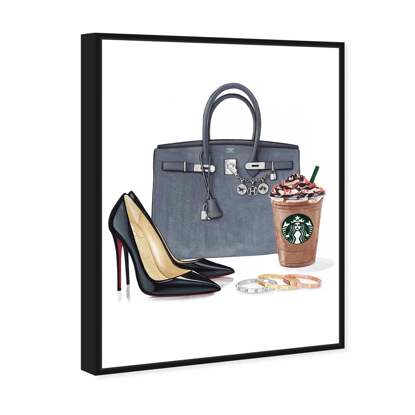 Angled view of Doll Memories -Morning Essentials featuring fashion and glam and essentials art.