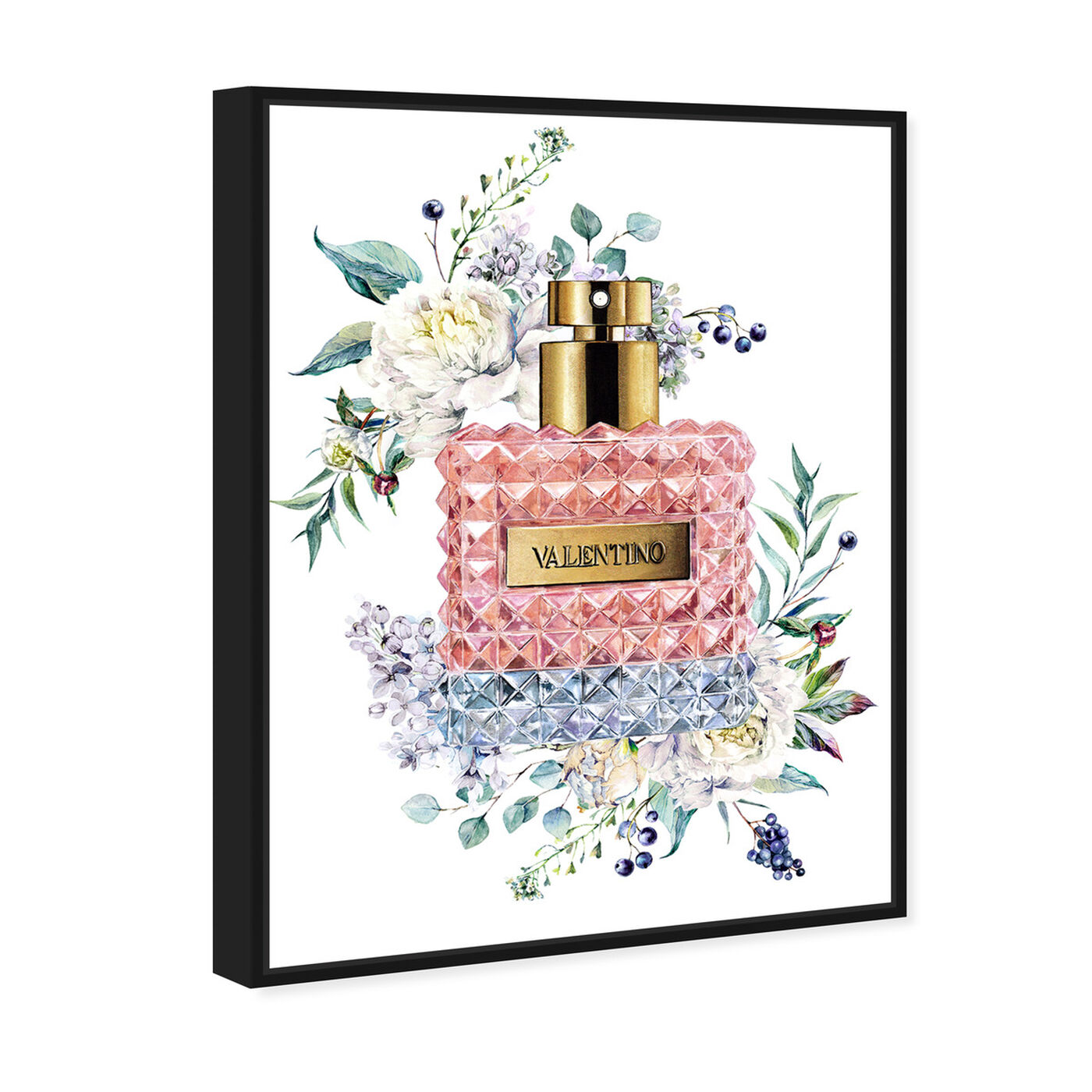 Angled view of Doll Memories - Valentina featuring fashion and glam and perfumes art.