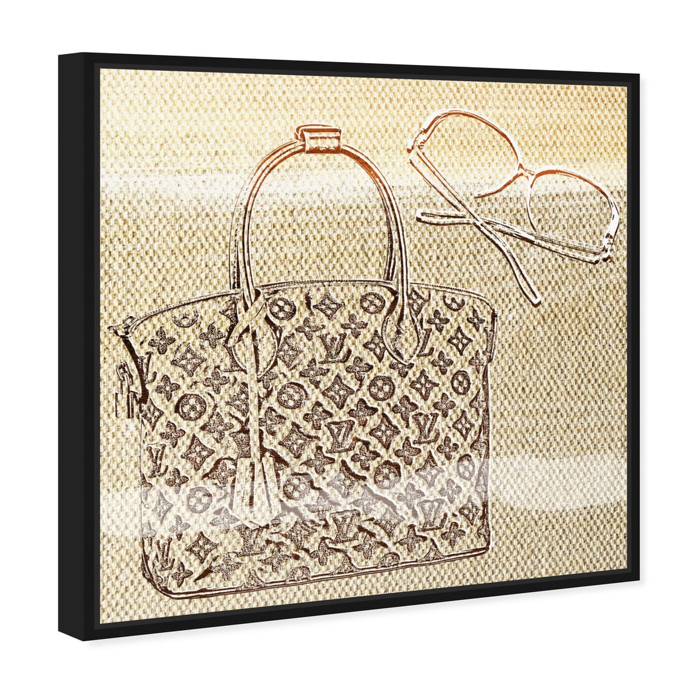 Angled view of Musts featuring fashion and glam and handbags art.