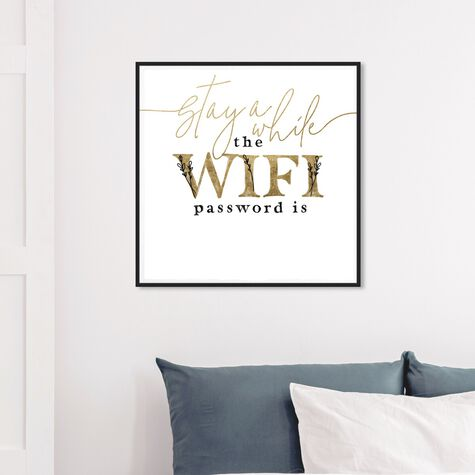 Wifi Password Simple Casual