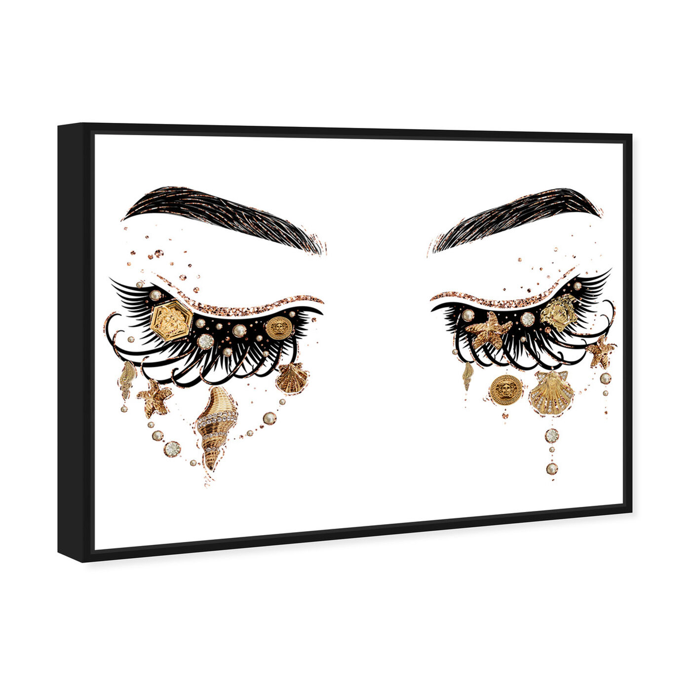 Angled view of Gianni Eyes and Treasures featuring fashion and glam and makeup art.
