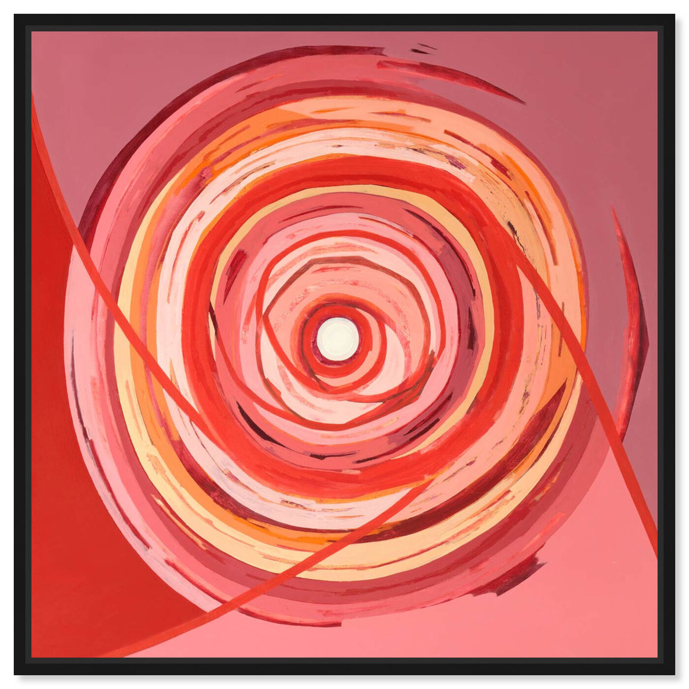Front view of Sai - Pictis Spiralis Rouge 1NM1759 featuring abstract and geometric art.