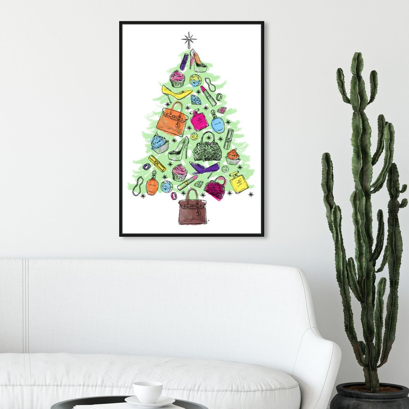 Hanging view of Fashion Tree featuring holiday and seasonal and holidays art.