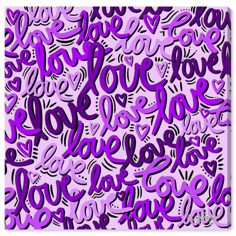Corey Paige -  Purple Script Love