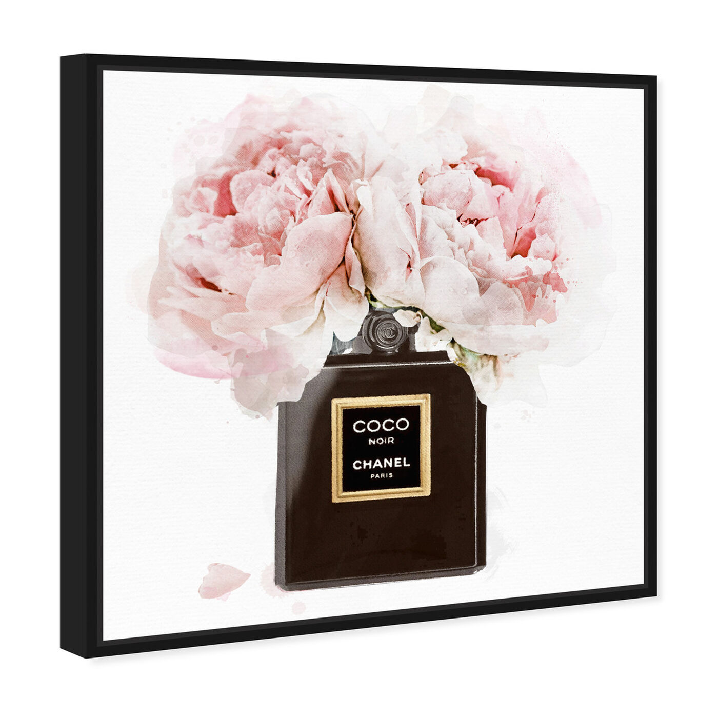 Angled view of Noir Bouquet featuring fashion and glam and perfumes art.