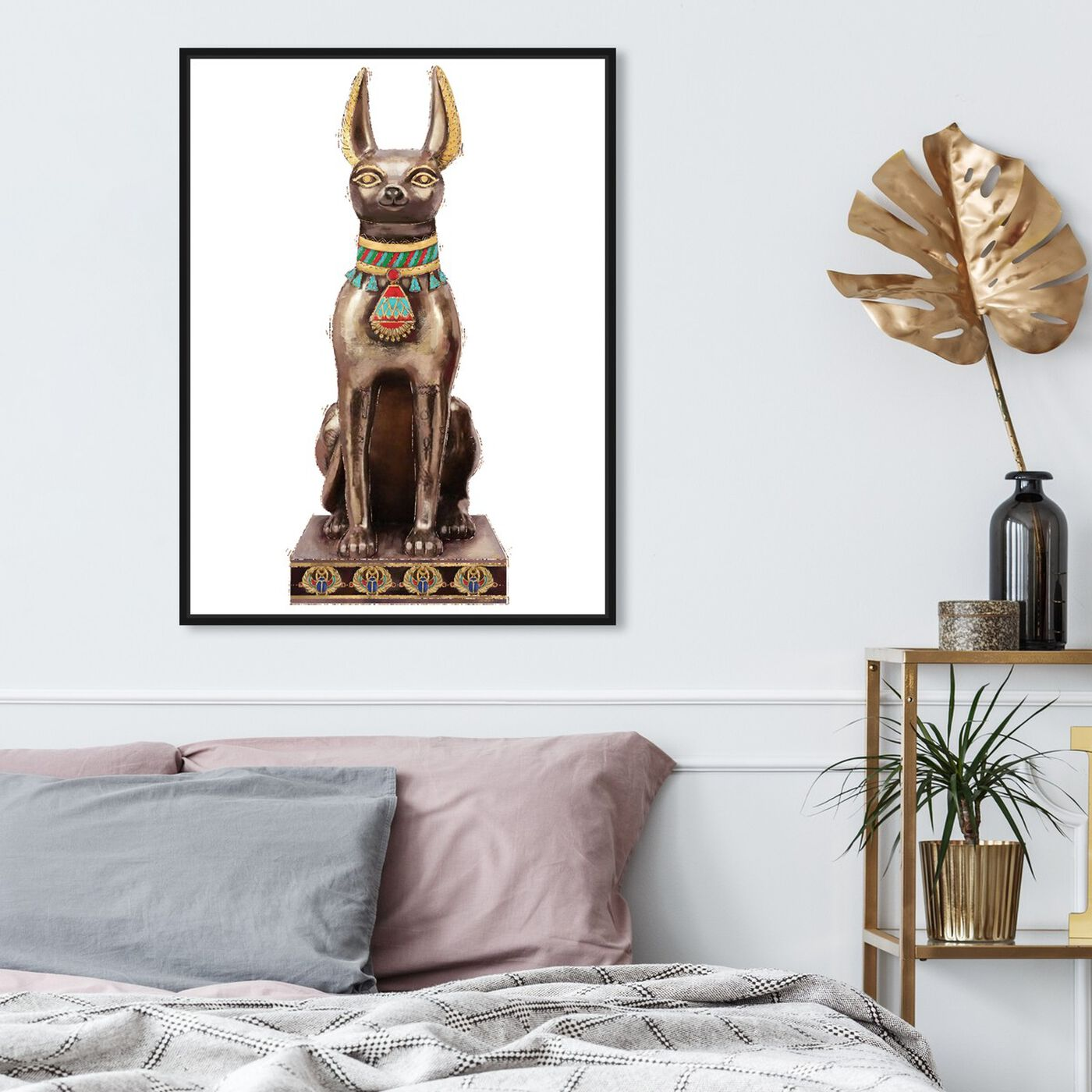 Hanging view of Dog Icon featuring animals and dogs and puppies art.