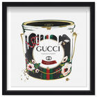 Front view of Velvet Marmont Paint Can featuring fashion and glam and cans art. image number null