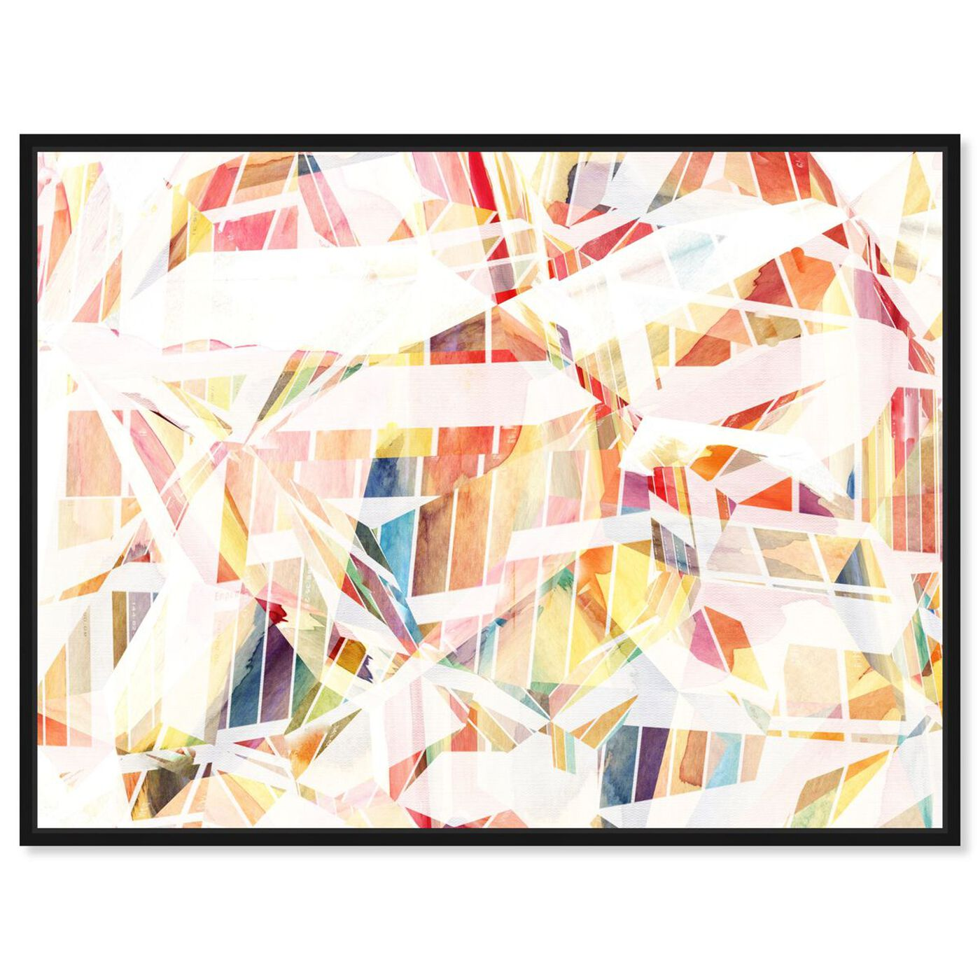 Front view of Just Like That featuring abstract and watercolor art.