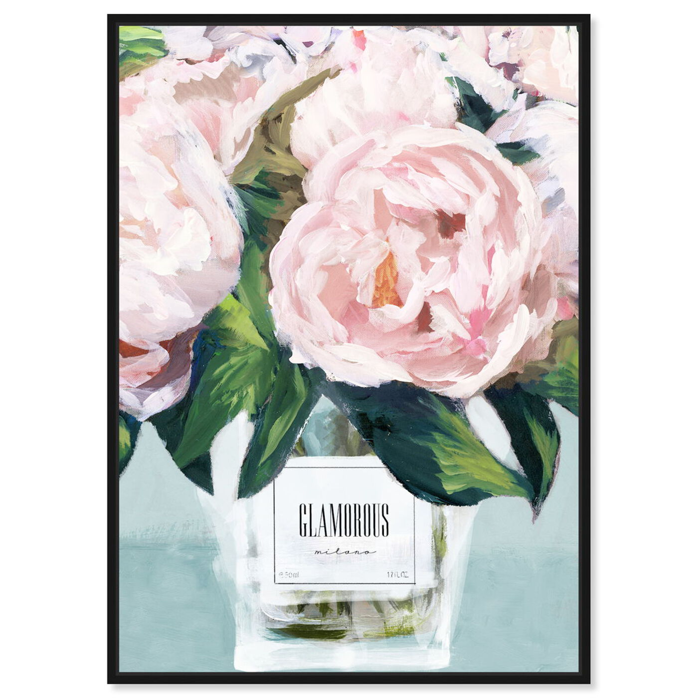 Front view of Glamorous Milano Pastel featuring floral and botanical and florals art.