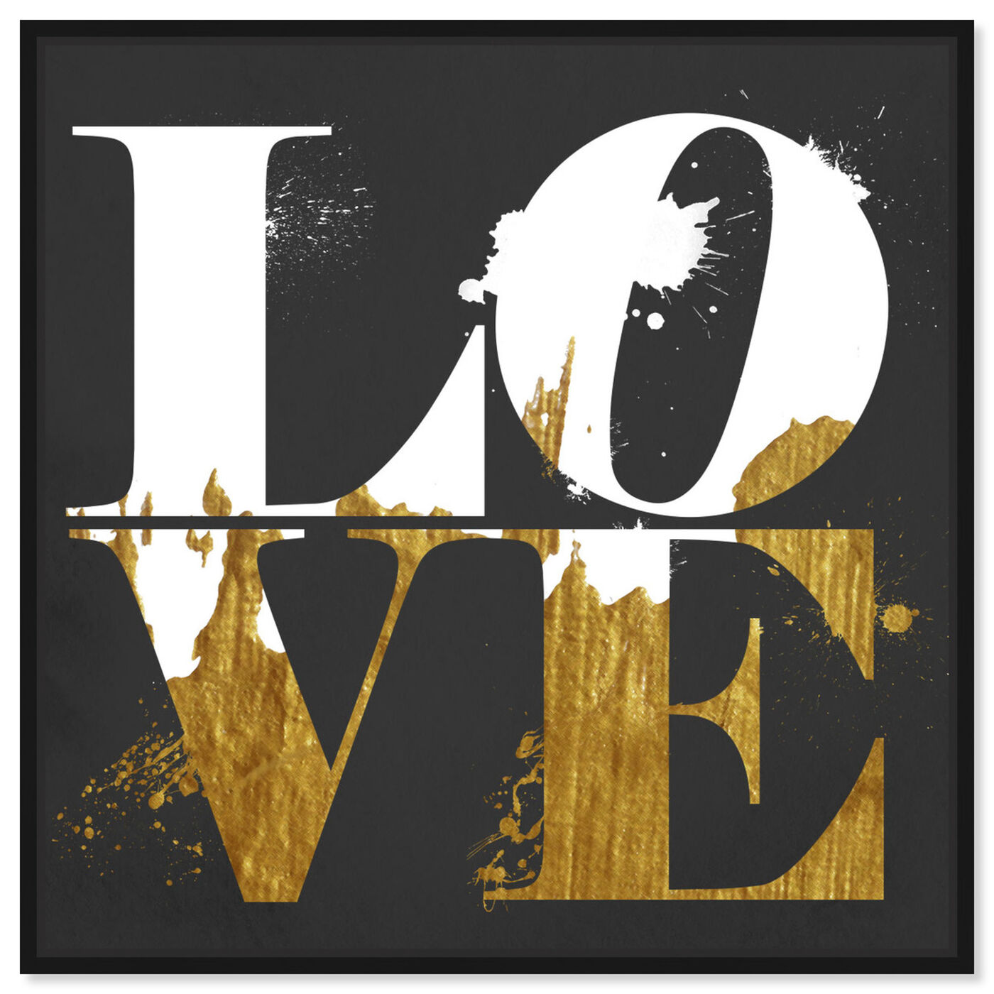Front view of Real Love featuring typography and quotes and love quotes and sayings art.