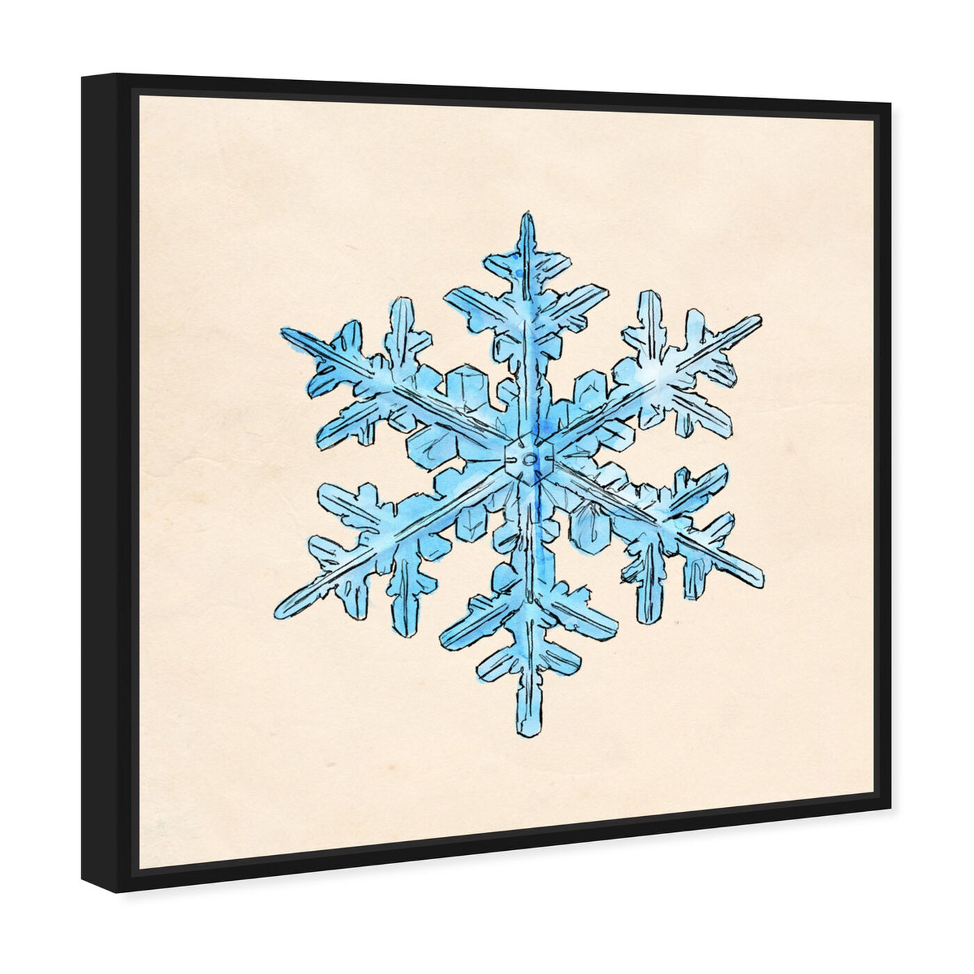 Angled view of One of a Kind featuring holiday and seasonal and seasons art.