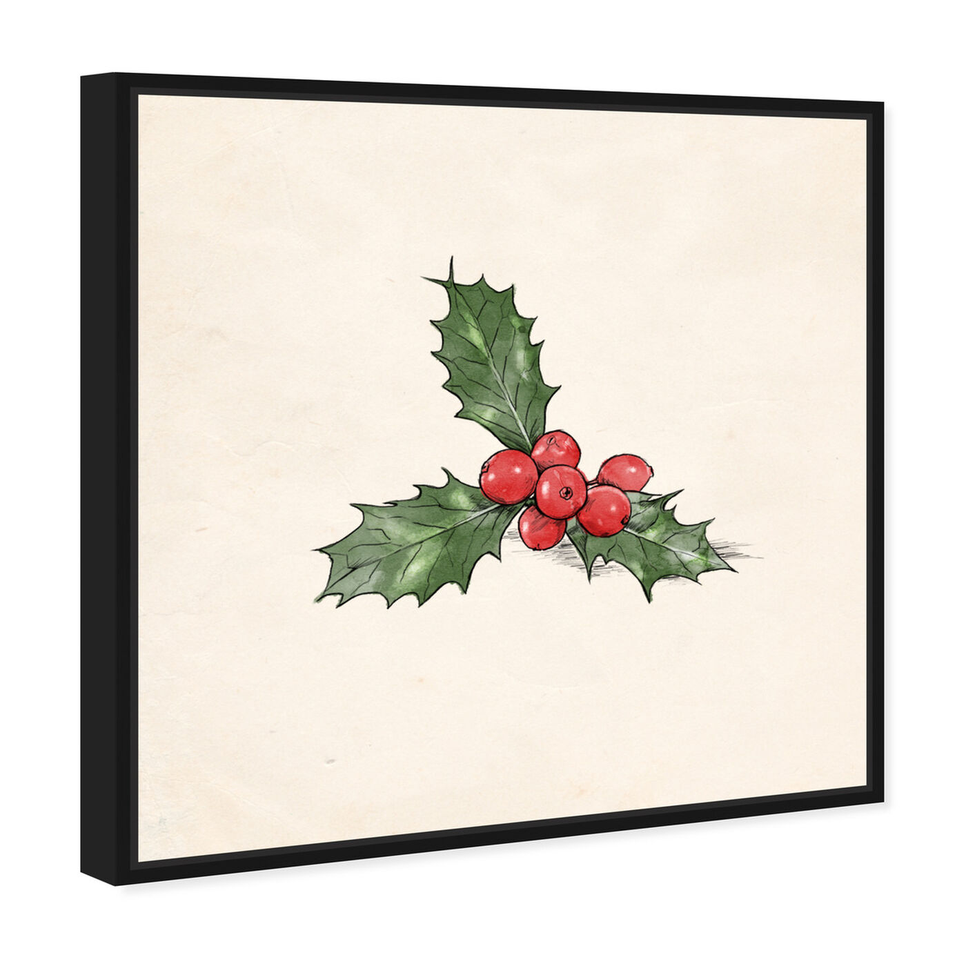 Angled view of Mistletoe featuring holiday and seasonal and holidays art.