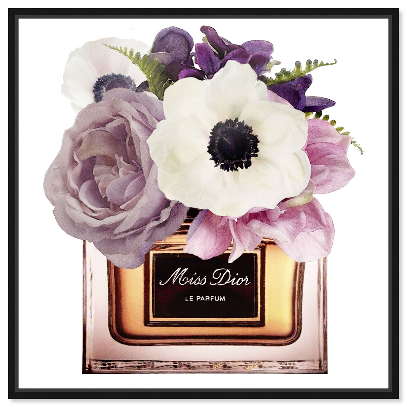 Front view of Night Anemone Perfume featuring fashion and glam and perfumes art.