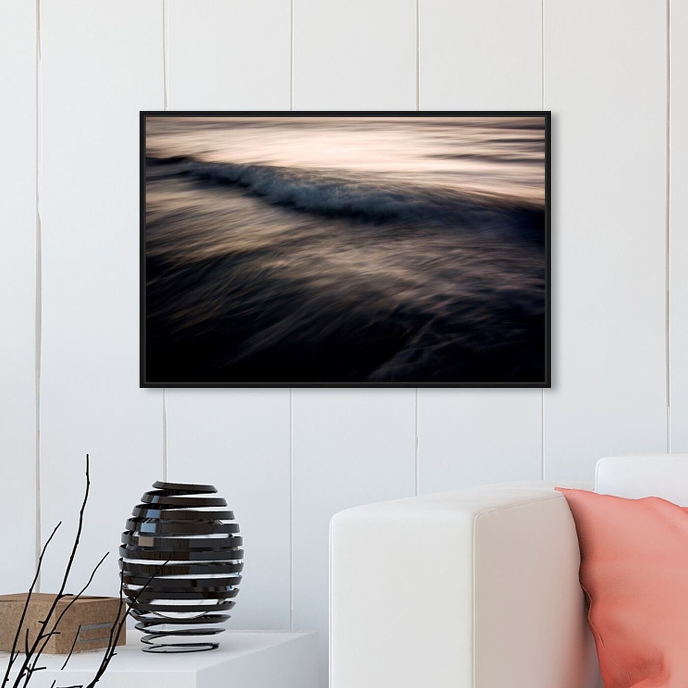 Hanging view of After the Sun Has Set featuring nautical and coastal and coastal art.