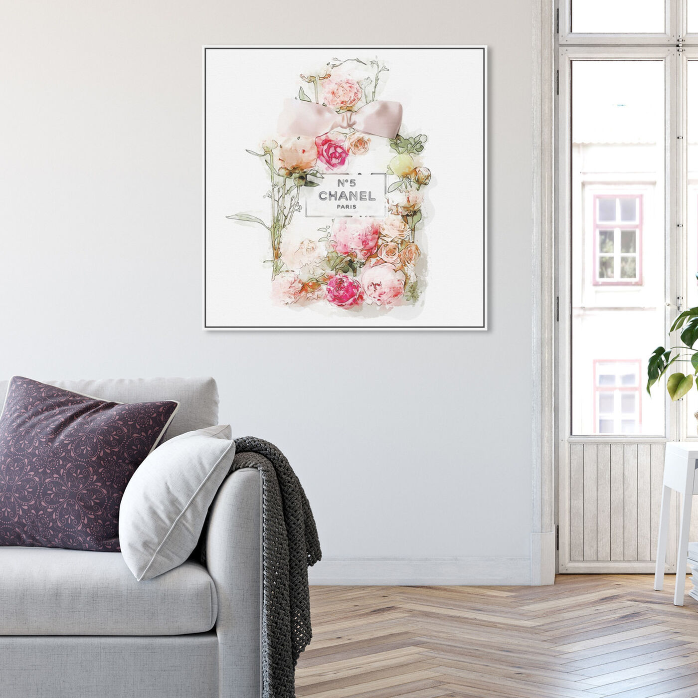 Hanging view of Blooming Perfume featuring fashion and glam and perfumes art.