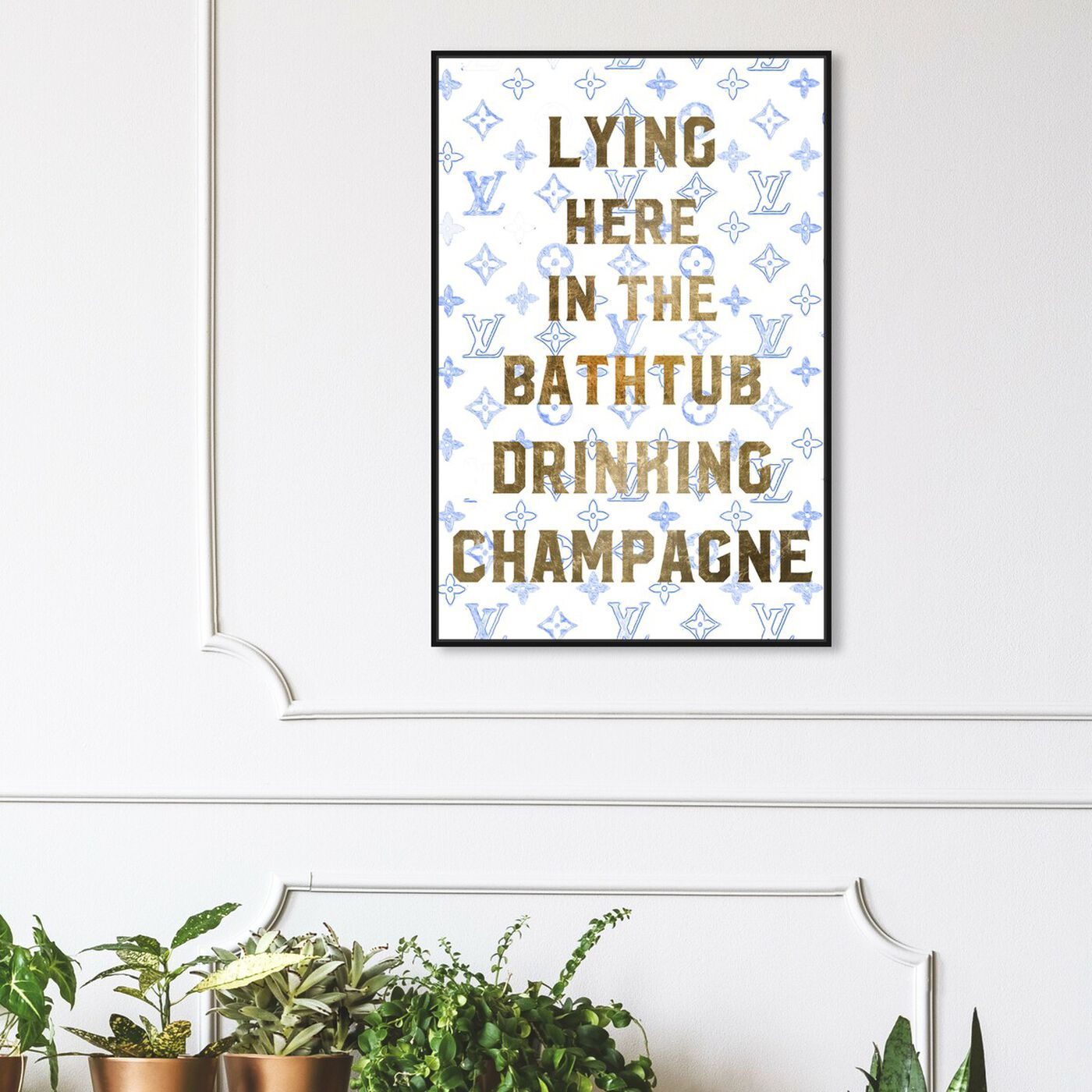 Hanging view of Where Can I Find You featuring bath and laundry and bathtubs art.