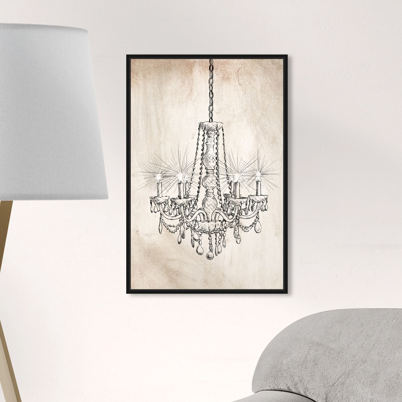 Hanging view of Cantora featuring fashion and glam and chandeliers art.