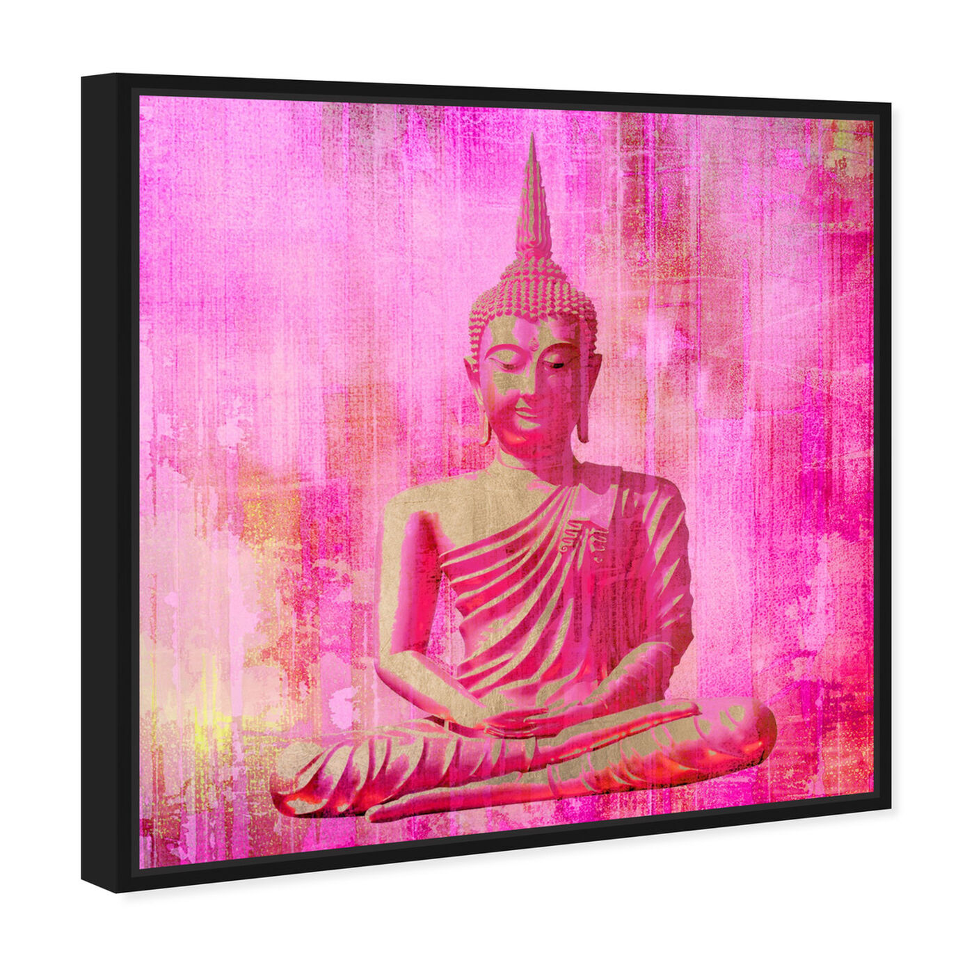 Angled view of Buddha Pink featuring spiritual and religious and religion art.