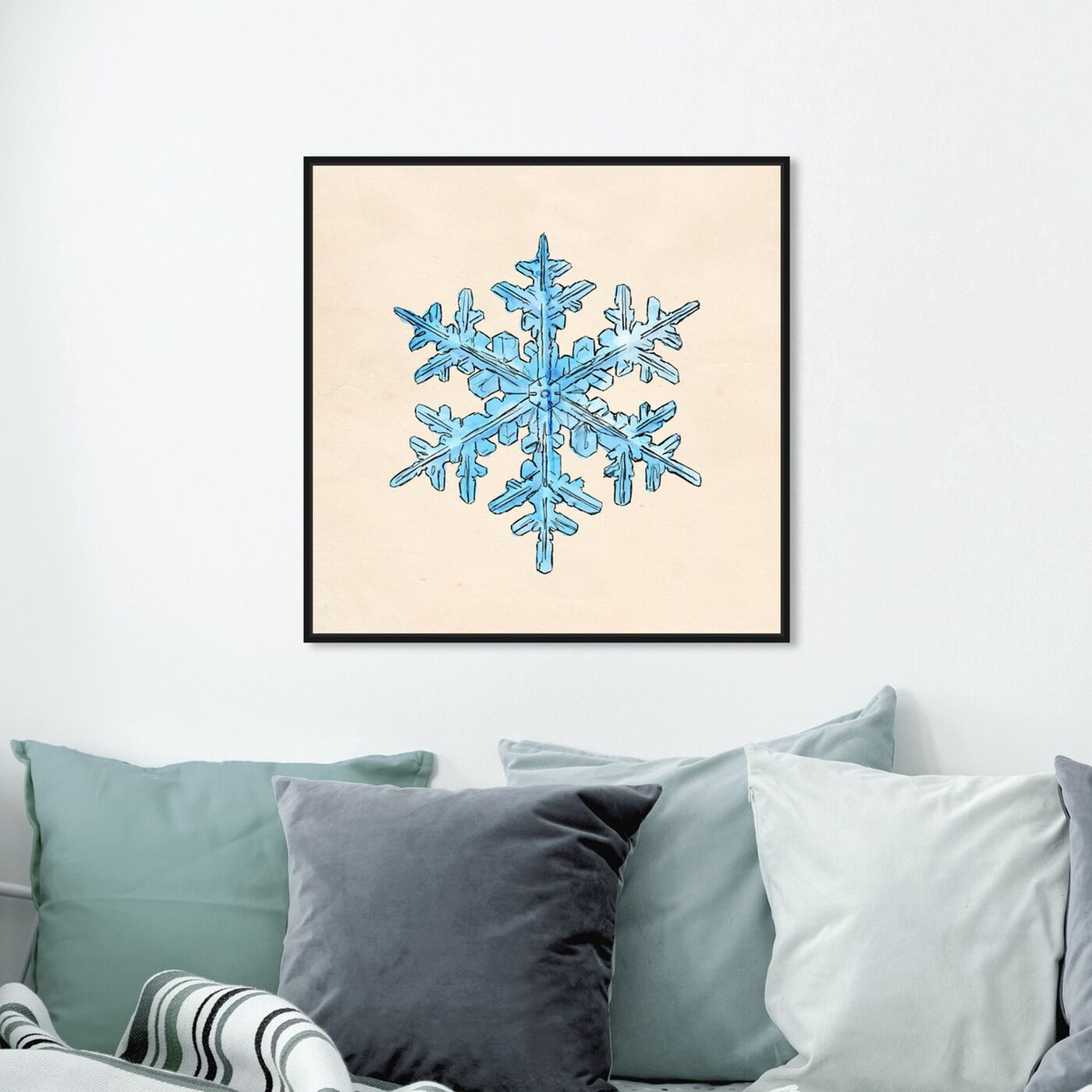 Hanging view of One of a Kind featuring holiday and seasonal and seasons art.