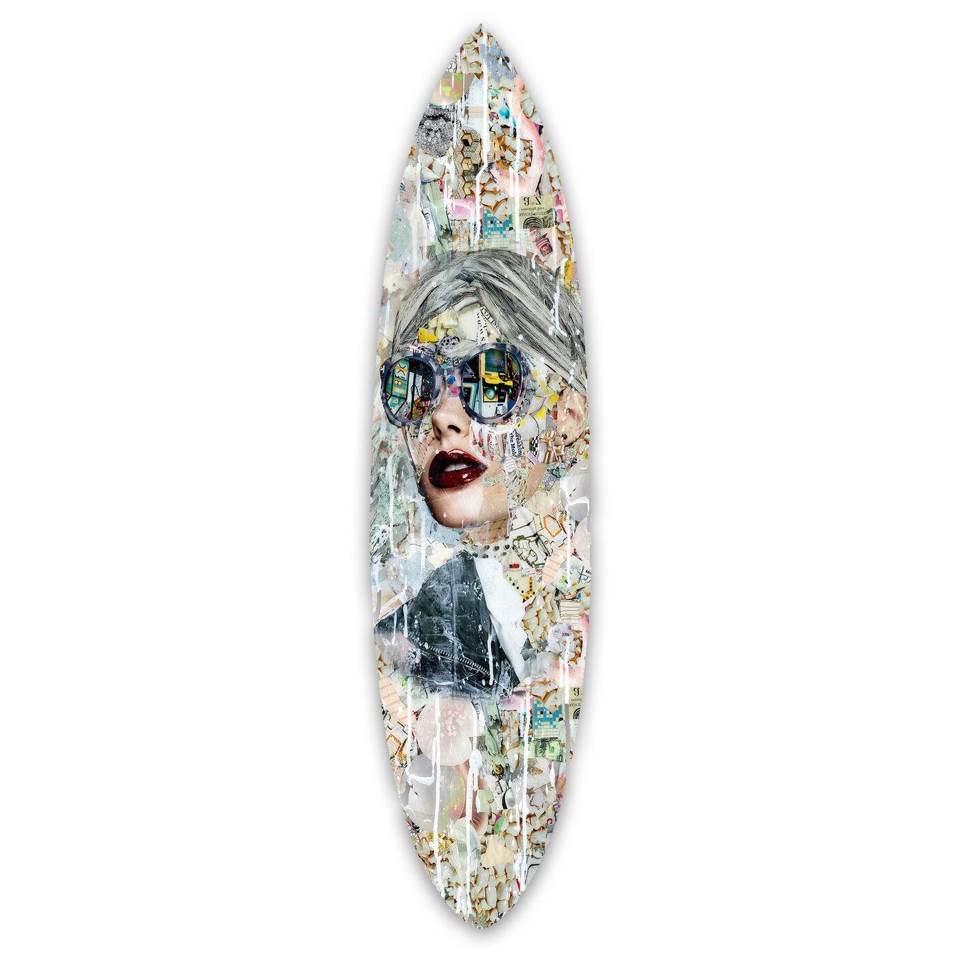 Katy Hirschfeld - Galaxy Surfboard