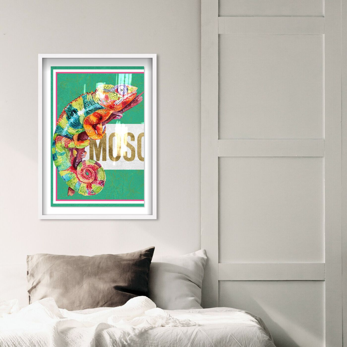 Hanging view of Colorful Left featuring fashion and glam and fashion art.