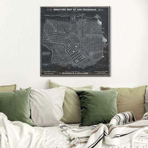 San Francisco Map 1879