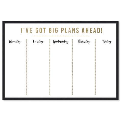 Ive Got Big Plans Ahead