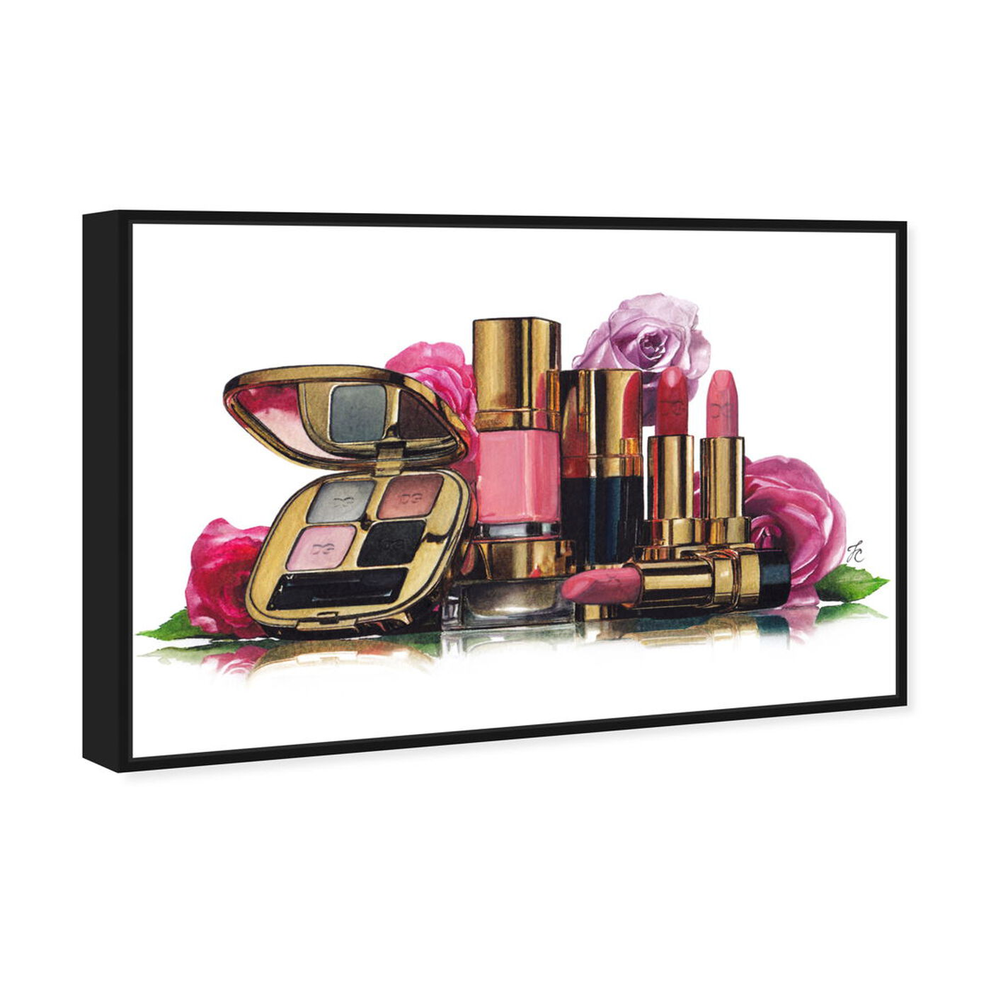 Angled view of Doll Memories - New Roses and Essentials featuring fashion and glam and makeup art.