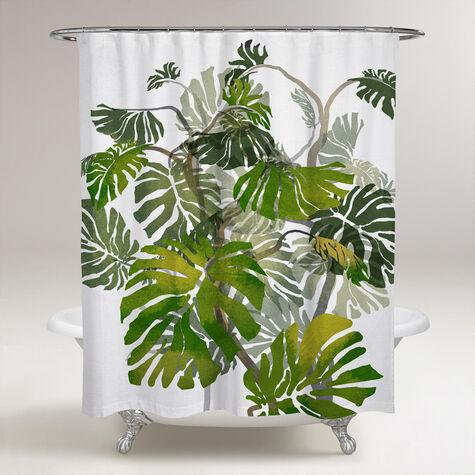 Jungle Tree Shower Curtain