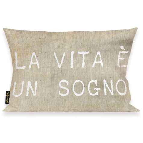 Life is But A Dream Pillow
