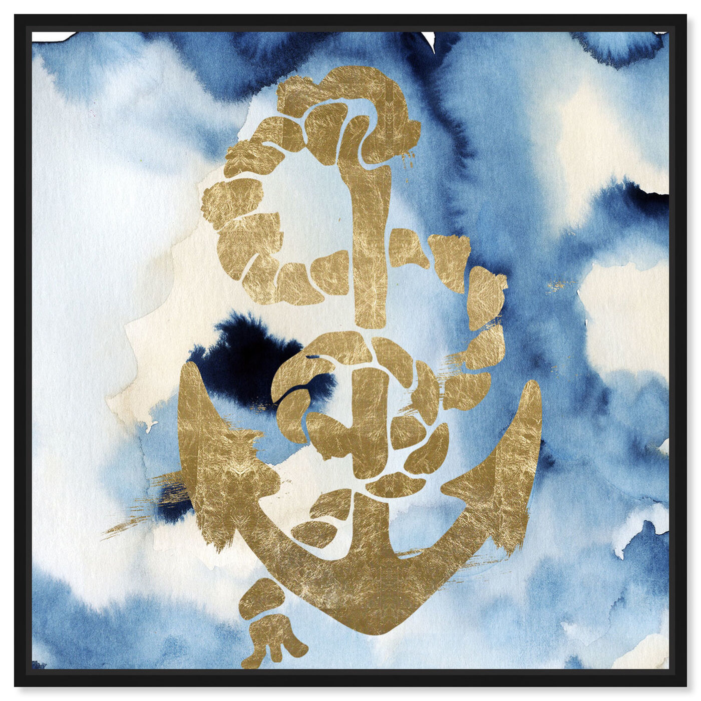 Front view of Anchors Away! featuring nautical and coastal and nautical watercrafts art.