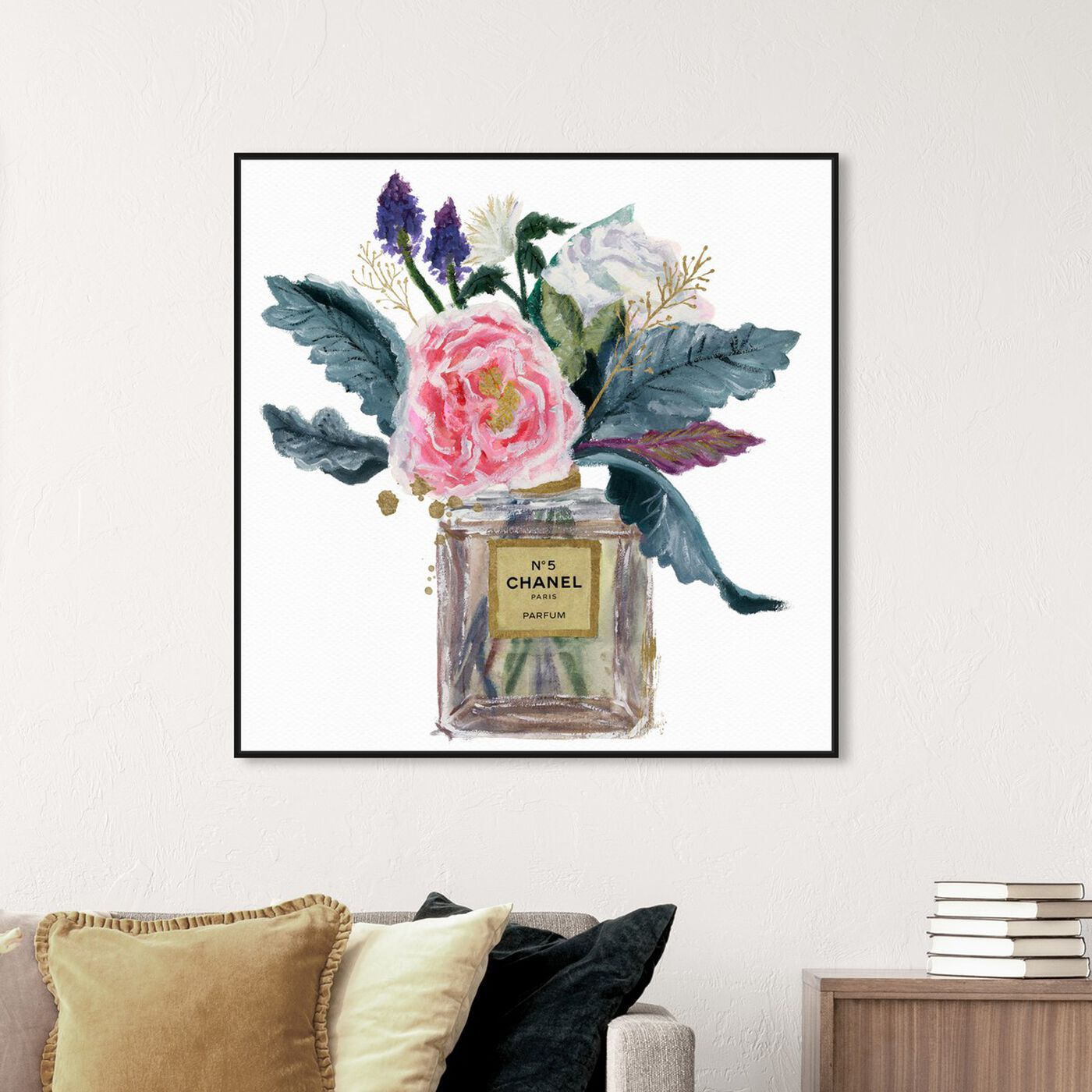 Hanging view of Eau de Peony featuring fashion and glam and perfumes art.