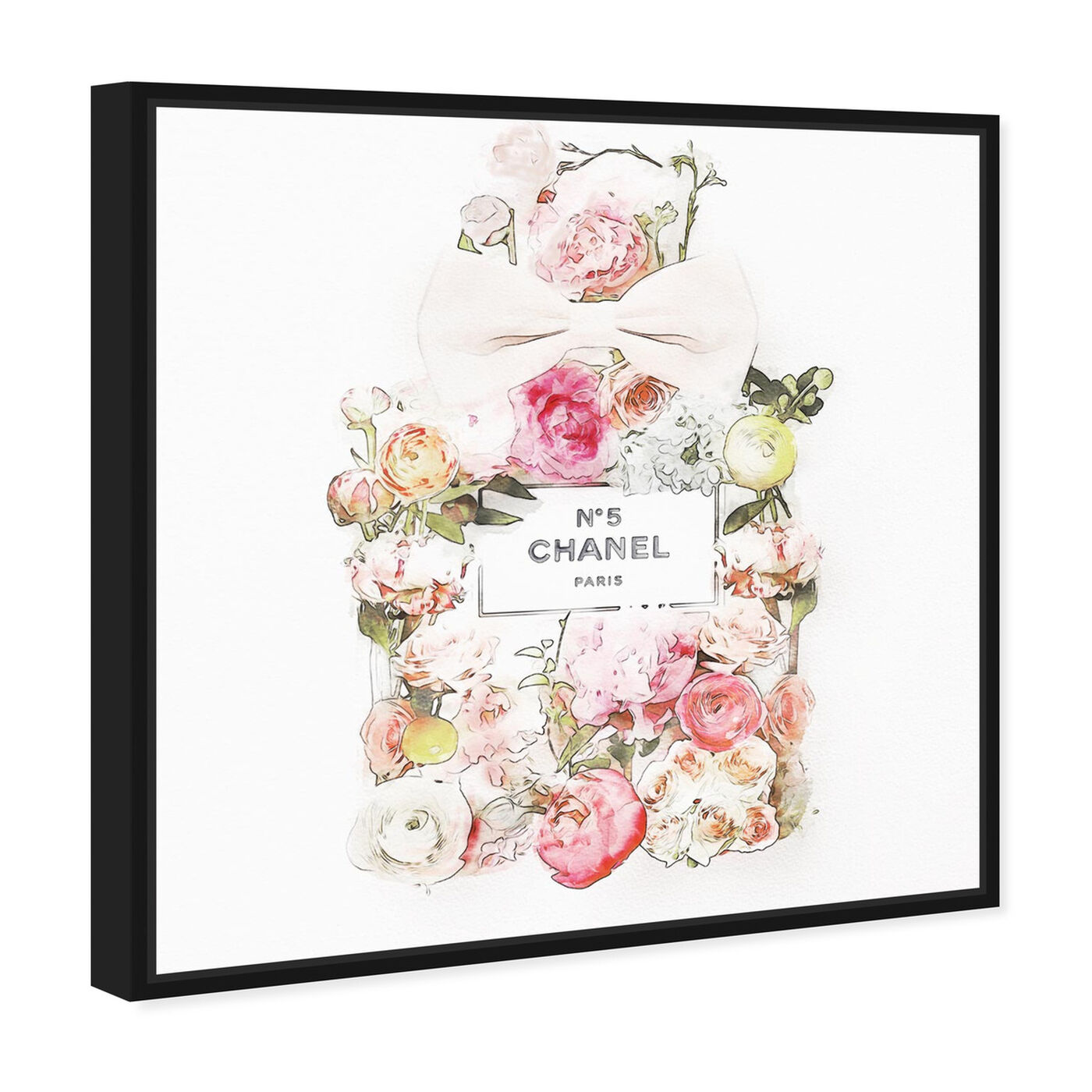 Angled view of Blooming Bouquet featuring fashion and glam and perfumes art.