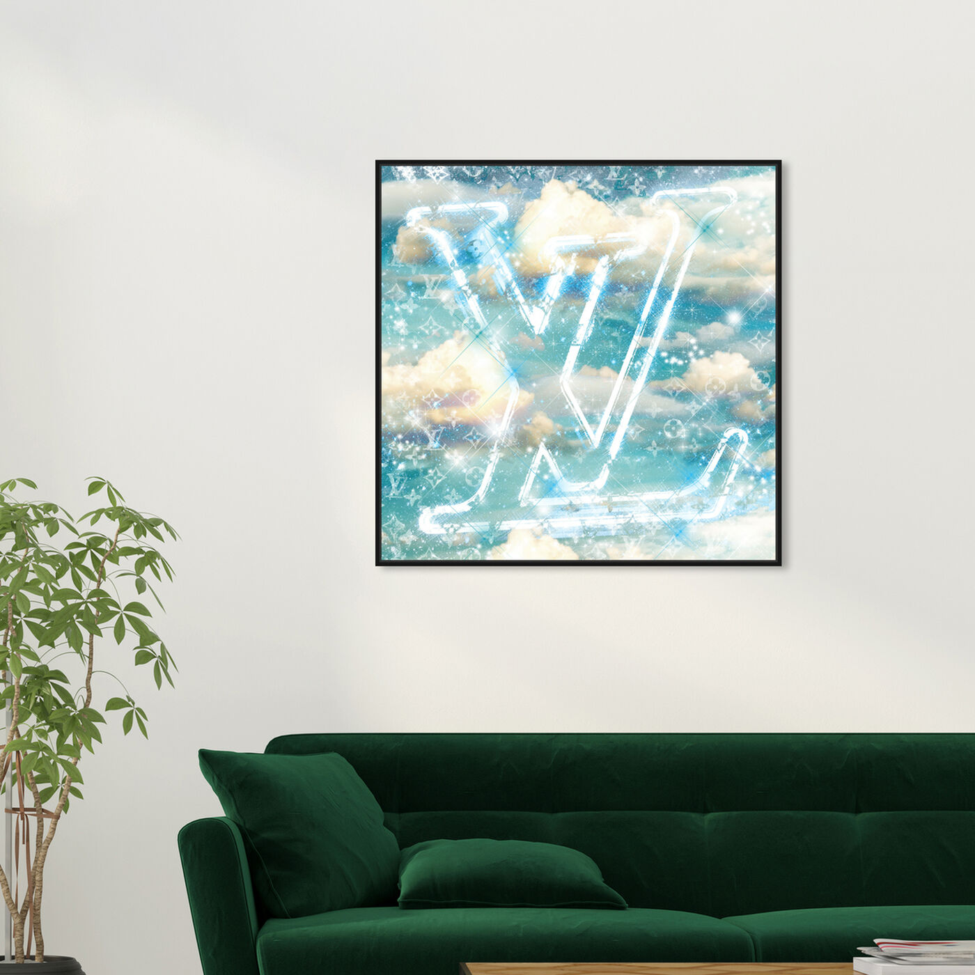 Hanging view of Clouds of Paris featuring fashion and glam and fashion art.