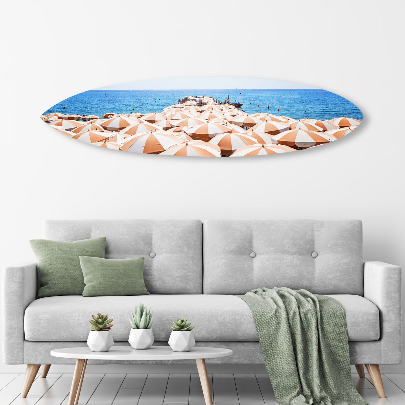 Sun Umbrella Surfboard