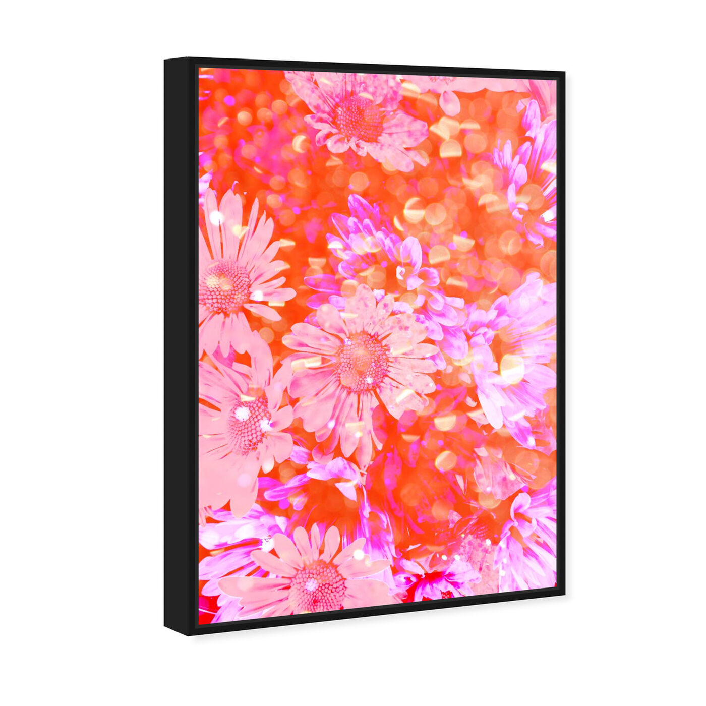 Angled view of Flower Madness featuring floral and botanical and florals art.
