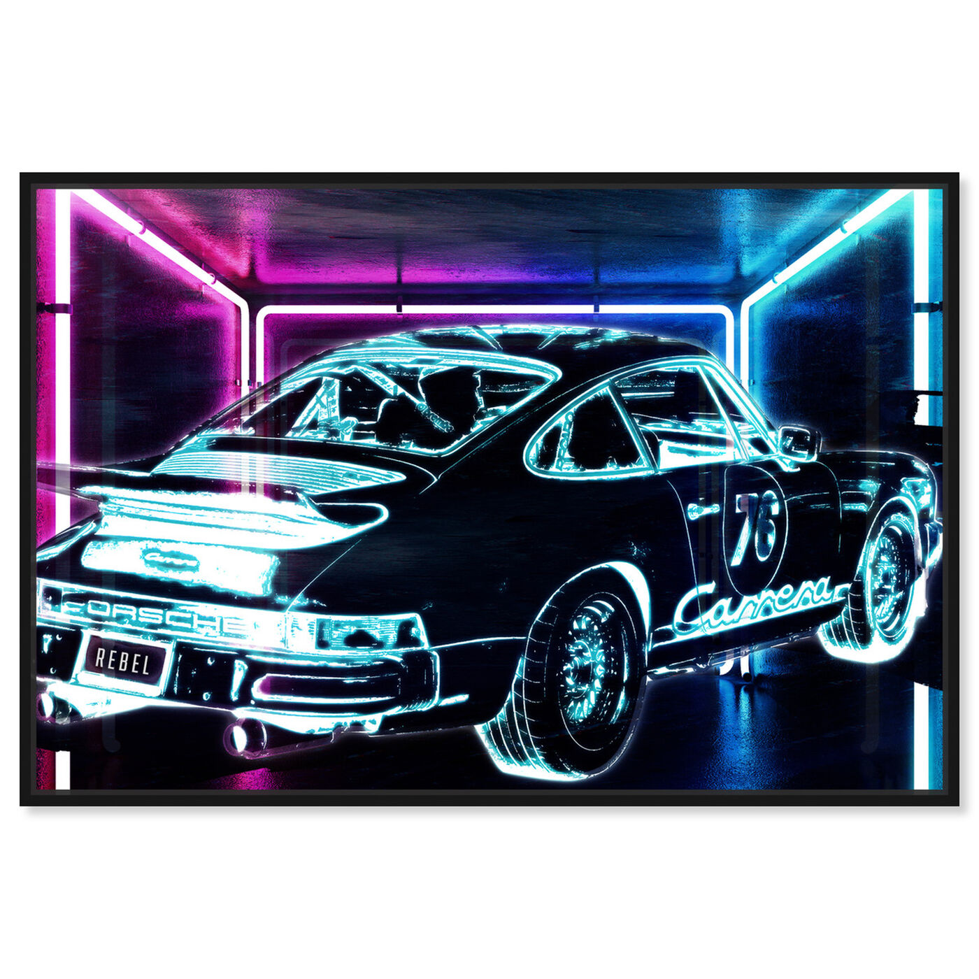 Front view of CyberCar art.