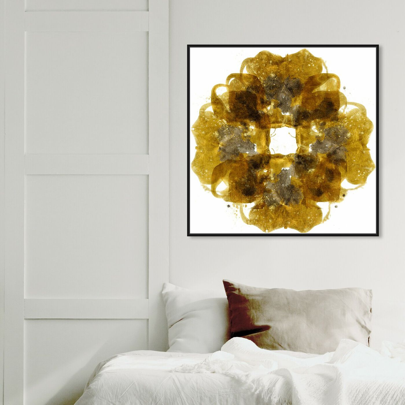 Hanging view of Nautural Instincts - Signature Collection featuring abstract and textures art.