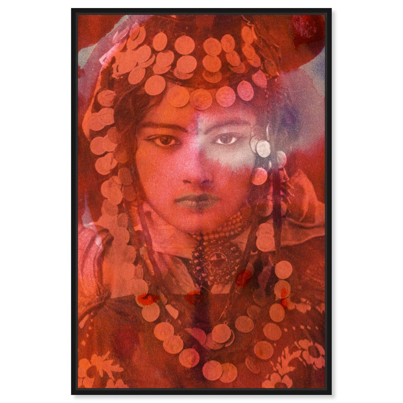Front view of Gypsy Girl featuring classic and figurative and classic art.