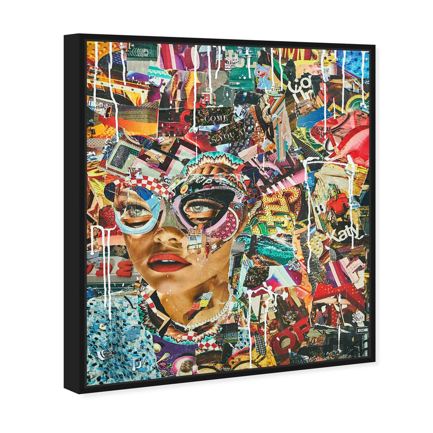 Angled view of Katy Hirchfeld - Come As You Are featuring fashion and glam and accessories art.