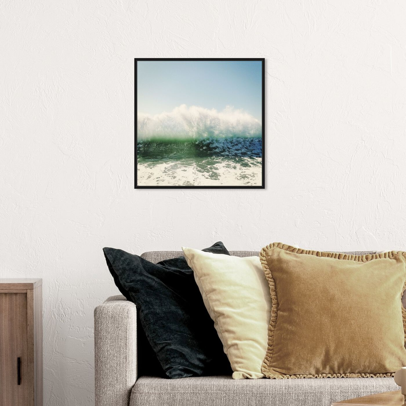 Hanging view of Foam featuring nautical and coastal and coastal art.