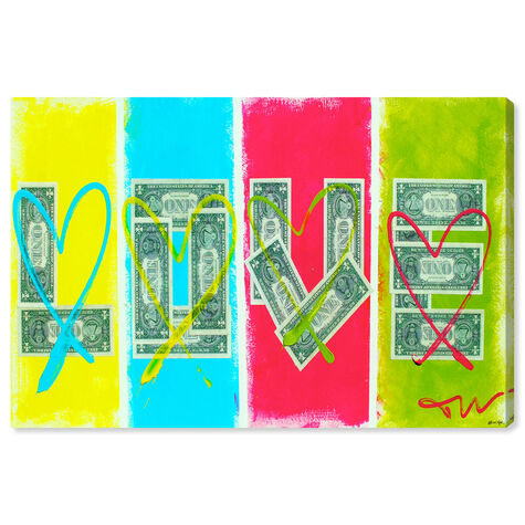 Love equals money by Tiago Magro