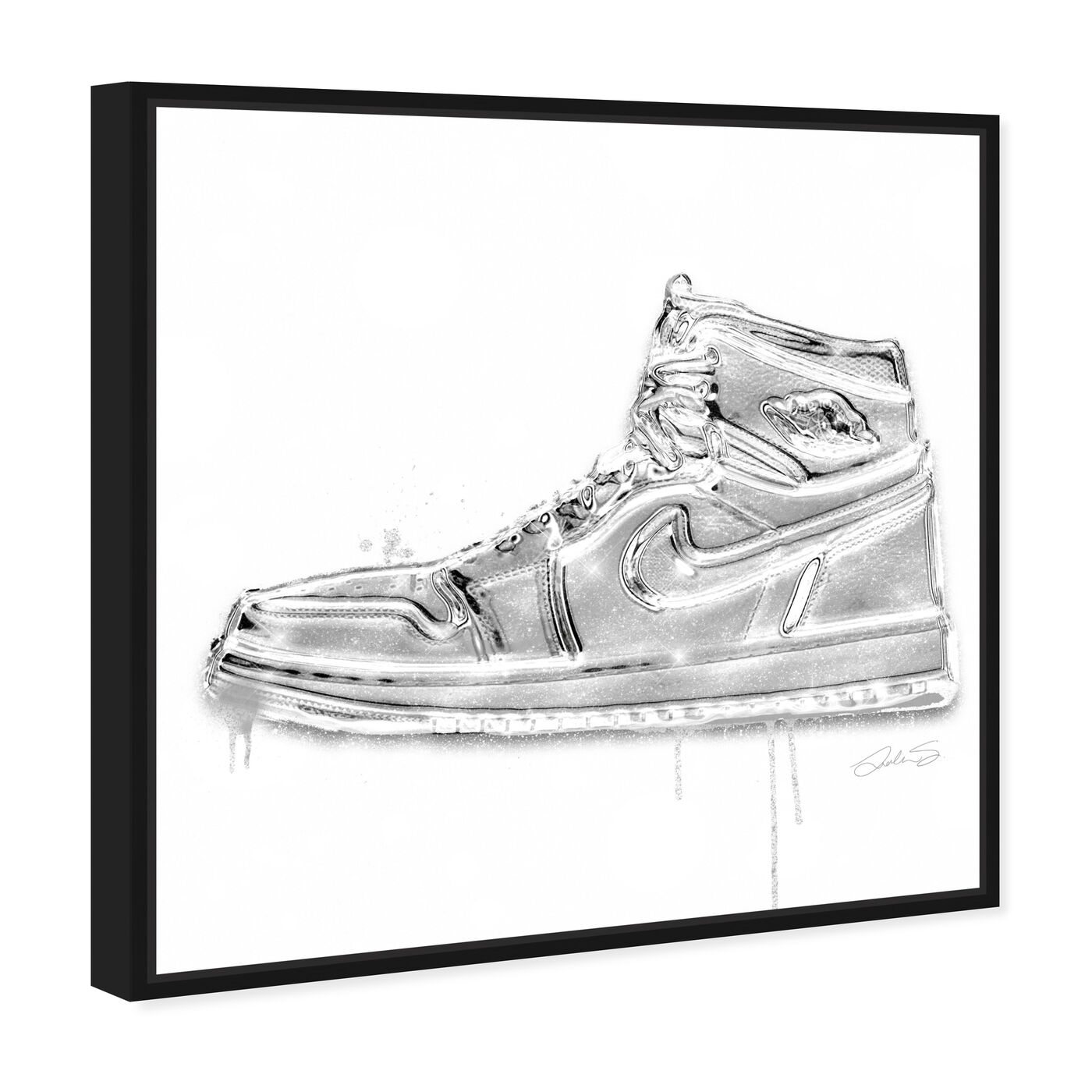 Angled view of Lola Air featuring fashion and glam and shoes art.